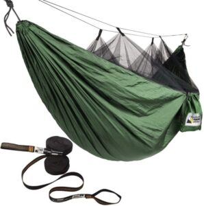 Adventure Gear Outfitter Camping Hammock with Mosquito Net