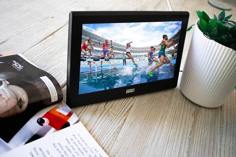 Battery-Operated TV for camping