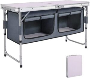 AHB Outdoor Folding Camp Table